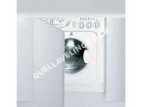 lave-linge INDESIT  Lave linge séchant intégrable IWDE 127 EU