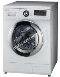 lave-linge LG Electronics  6 Motion  F42WH  Machine à laver  pose libre  largeur : 60 cm  profondeur : 55 cm  hauteur : 5 cm  chargement frontal  5 litres   kg  1400 tours/min  blanc