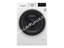 lave-linge LG Electronics  F4J61WH  Machine  laver  indépendant  largeur : 60 cm  profondeur : 56 cm  hauteur : 85 cm  chargement frontal  5 litres   kg  1400 toursmin  blanc