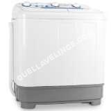 lave-linge ONECONCEPT DB004  Mini machine  laver et essoreuse  Petit lavelinge avec fonction essorage  Studio, salles de bain, camping (4,8kg de vêtements, 380W en lavage, 160W essorage)