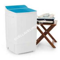 lave-linge ONECONCEPT  one Coept Ecowash Deluxe Machine à laver 290W 4kg Minuteur Fotion essorage bleu one Coept