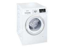 lave-linge SIEMENS iQ300 WM14N060FF  Machine à laver  pose libre  largeur : 59.8 cm  profondeur : 60 cm  hauteur : 84.8 cm  chargement frontal  55 litres   kg  1400 tours/min  blanc