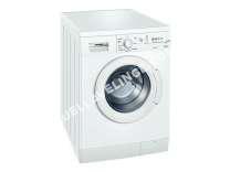 lave-linge SIEMENS WM14E161FF  Machine à laver  freestanding  largeur : 60 cm  profondeur : 59 cm  hauteur : 84.8 cm  chargement frontal   kg  1400 tours/min