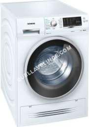 lave-linge SIEMENS  WD14H462FF - Machine à laver séchante - pose libre - hauteur : 85 cm - chargement frontal - 56 litres - 7 kg - 1400 tours/min