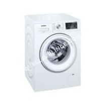 lave-linge SIEMENS iQ500 WM1T0FF  Machine à laver  pose libre  largeur : 5.8 cm  profondeur : 5 cm  hauteur : 8.8 cm  chargement frontal  63 litres   kg  100 tours/min  blanc
