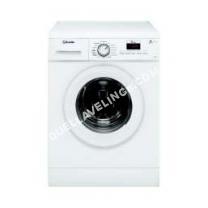 lave-linge VEDETTE VLF22W  Machine à laver  pose libre  largeur : 59.5 cm  profondeur : 49.5 cm  hauteur : 85 cm  chargement frontal  50 litres   kg  1200 tours/min  blanc