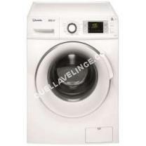 lave-linge VEDETTE VLF45ISW  Machine à laver  pose libre  hauteur : 82 cm  chargement frontal   kg  1400 tours/min  blanc