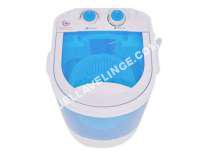 lave-linge Vidaxl Machine  laver  indépendant  largeur  33 cm  profondeur  32.5 cm  hauteur  49 cm  chargement par le dessus  2.6 kg  blanc/bleu