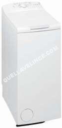 lave-linge WHIRLPOOL AWE 5528  Machine  laver  indépendant  largeur  40 cm  profondeur  60 cm  hauteur  90 cm  chargement par le dessus  42 litres  5.5 kg  1200 tours/min