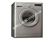 lave-linge WHIRLPOOL AWO/CM9123/1S  Machine à laver  pose libre  largeur : 59.5 cm  profondeur : 5 cm  hauteur : 4.5 cm  chargement frontal  56 litres   kg  1200 tours/min