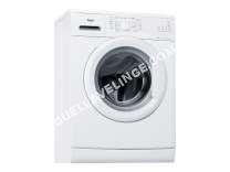 lave-linge WHIRLPOOL  AWOD 2814 - Machine à laver - pose libre - largeur : 59.5 cm - profondeur : 57.5 cm - hauteur : 84.5 cm - chargement frontal - 8 kg - 1200 tours/min