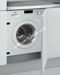 lave-linge WHIRLPOOL AWOD 00  Machine à laver  intégrable  largeur : 59.5 cm  profondeur : 58 cm  hauteur : 82 cm  chargement frontal  50 litres   kg  1000 tours/min