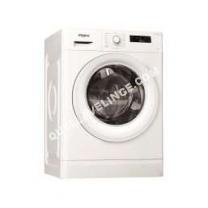 lave-linge WHIRLPOOL FWF 1483 W FR  Machine à laver  pose libre  largeur : 5.5 cm  profondeur : 63 cm  hauteur : 84.5 cm  chargement frontal  62 litres   kg  1400 tours/min