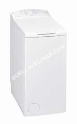 lave-linge WHIRLPOOL Lave-linge top  AWE6221 6ème Sens Blanc
