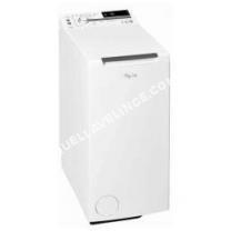 lave-linge WHIRLPOOL Lave-linge top  TDLR65230 6ème Sens Blanc