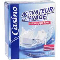 lave vaisselle AEG  Lot de 10 pastilles activeur de lavage - Linge bla - 10 x 20 g