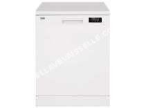 lave vaisselle BEKO  Lave vaisselle 15 couverts TDFN16520W