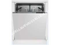 lave vaisselle BEKO  Lave vaisselle full intégrable 12 couverts LVI60F