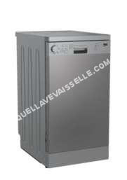 lave vaisselle BEKO UDFS05010X  Lavevaisselle  pose libre  hauteur  85 cm  inox
