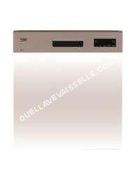 lave vaisselle BEKO PDSN15310X  Lavevaisselle  intégrable  largeur  59.8 cm  profondeur  55 cm  hauteur  81.8 cm