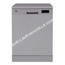 lave vaisselle BEKO TDFN530S  Lavevaisselle  pose libre  hauteur  85 cm  argenté(e)