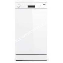 lave vaisselle BEKO UDFS05010W Lave vaisselle pose libre 10 couverts 49DB A+ blanc