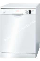 lave vaisselle BOSCH Serie  SMS5GW0E  Lavevaisselle  pose libre  largeur  60 cm  profondeur  60 cm  hauteur  84.5 cm  blanc