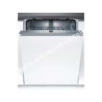 lave vaisselle BOSCH Lave-vaisselle intégrable Smv 46 Ax 01 E