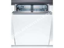 lave vaisselle BOSCH Lave-vaisselle tout intégrable Smv 46 Ix 03 E