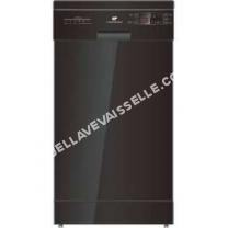 lave vaisselle CONTINENTAL EDISON  Edison CELV1147DDB - Lave vaisselle - 11 couverts - 47dB - A++ - Larg. 44,8cm
