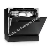 lave vaisselle Klarstein  Amazonia 8 Mini Lave vaisselle de table 6 programmes 1620W A noir