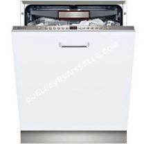 lave vaisselle encastrable neff s51n69x4eu lavevaisselle int grable niche largeur 60 cm