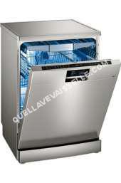 lave vaisselle SIEMENS iQ700 SN278I36TE  Lavevaisselle  pose libre  WiFi  Niche  largeur  60 cm  profondeur  57 cm  hauteur  81.5 cm  acier inoxydable