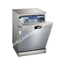 lave vaisselle SIEMENS iQ300 SN236I04ME  Lavevaisselle  pose libre  largeur  60 cm  profondeur  60 cm  hauteur  84. cm  acier inoxydable