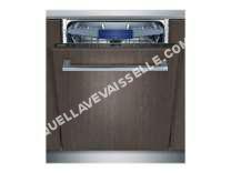 lave vaisselle SIEMENS SN658X00ME  Lave vaisselle encastrable  14 couverts  41dB  A+++  Larg 60cm  Moteur induction