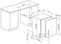lave vaisselle SMEG Lave vaisselle encastrable  STA6439L2 FULL