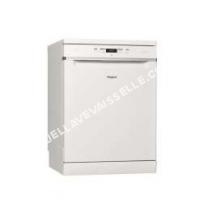 lave vaisselle WHIRLPOOL Supreme Clean WFC3C22P  Lavevaisselle  pose libre  largeur  60 cm  profondeur  60 cm  hauteur  85 cm