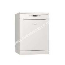lave vaisselle WHIRLPOOL Lave vaisselle pose libre WFCC 3B16X