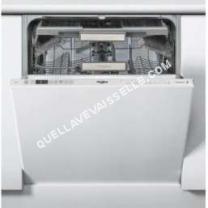 lave vaisselle WHIRLPOOL WKCIO3T123PEF  Lavevaisselle  intégrable  Niche  largeur  60 cm  profondeur  57 cm  hauteur  82 cm  gris métallisé