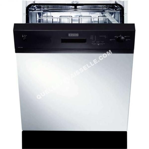 Edson sielv49bk lave vaisselle encastrable moins cher for Lave vaisselle encastrable pas cher
