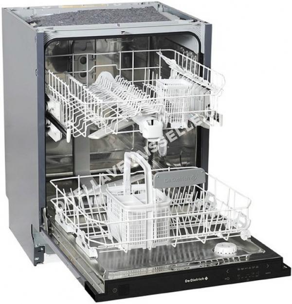 de dietrich dvh130j full lave vaisselle encastrable moins cher. Black Bedroom Furniture Sets. Home Design Ideas