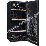 cave-à-vin CLIMADIFF Cave  vin Multi ou Mono   182 bouteilles    Noir    Polyvalente   ci cli303   Pose libre