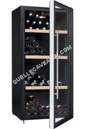 cave-à-vin CLIMADIFF CIMADIFF CPG150 Cave à vin polyvalente ou de conservation - 150 bouteilles - Pose libre - C - 63   138,5 cm