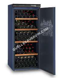 cave-à-vin CLIMADIFF Climadiff CLIMADIFF CVP180 - Cave à vin de vieillissement - 180 bouteilles - Pose libre - Classe A - L 62 x H145 cm