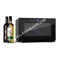 cave-à-vin KLARSTEIN Mini cave à vin de 25L pour 8 bouteilles avec éclairage intérieur LED - Classe B