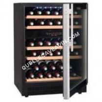 cave-à-vin LA SOMMELIERE CVDE462  Cave à vin de service 2 Zones  45 bouteilles  Encastrable  Classe B  L 59,5 cm   82,8 cm