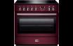 Cuisinière FALCON Professional  FX 90  cuisinière  pose libre  90 cm  rouge airelle