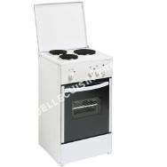 cuisinière   Cuisinière électrique SCE 50, 48 cm, 3 foyers, four à convection naturelle