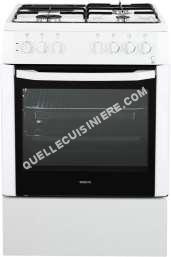 cuisinière BEKO Cuisinière mixte 60 cm coloris blanc  CSS 63110 DW