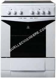 cuisiniere vitroceramique indesit k6c51w moins cher. Black Bedroom Furniture Sets. Home Design Ideas
